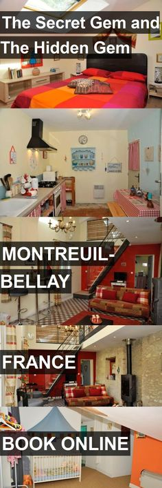 Hotel The Secret Gem and The Hidden Gem in Montreuil-Bellay, France. For more information, photos, reviews and best prices please follow the link. #France #Montreuil-Bellay #travel #vacation #hotel