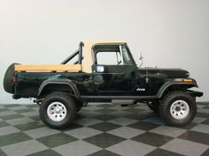 Jeep Scrambler - add the wood panels to the scout