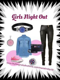 Go out on the night with the newest trend out there - jewelry that can be changed with a snap - customize your jewelry and accessories to match your outfit - http://www.mymagnoliaandvine.com/335