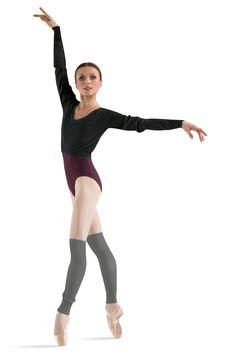 Z6519B- Ara Cropped Jumper- Women's Dancewear & Accessories - Bloch® US Store
