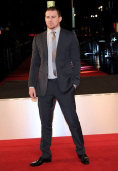 Channing Tatum #suits up in Gucci
