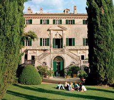 Italian Mansion, Italian Home, Italian Villa, Italian Style, Architecture Design, Classical Architecture, Architectural Digest, Architectural Sketches, Architectural Photography