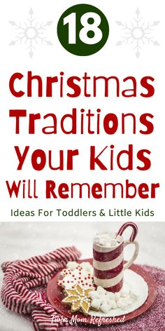 Christmas traditions for toddlers, kids, and teens to make holiday memories this year.  Easy Christmas activities that are fun for the whole family! Christmas Traditions Kids, Christmas Activities For Toddlers, Holiday Activities, Family Holiday, Holiday Fun, Toddler Christmas Crafts, Advent Activities, Family Traditions, Family Activities