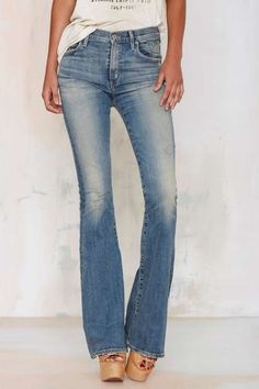 Citizens of Humanity Fleetwood High Waisted Flare Jean