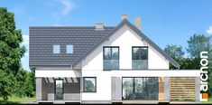 Dom w lobo Home Fashion, Larp, Pergola, Outdoor Structures, House Design, Cabin, House Styles, Villas, Outdoor Decor