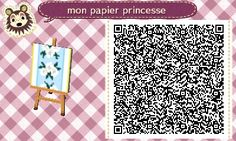 ACNL QR Code: Princess Fabric