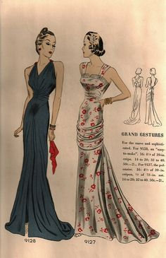 Pictorial Review 9128 9127, via Flickr. | Sewing Clothes