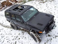 Open Air Jeep Cherokee