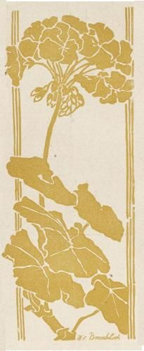 "Jugend, 1899    Floral design by M. v. Brauchitsch (i need to start an ""art nouveau repinned from ms Sadie"" board.."