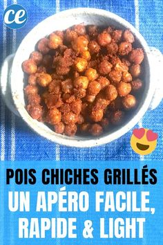 Grilled Chickpeas: An Easy, Fast & Light Aperitif. Tapas, Dog Food Recipes, Vegan Recipes, Chana Masala, Parfait, Entrees, Grilling, Food And Drink, Appetizers