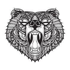 Black Bear I by Anastasia-berry