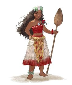 Ohhh Moana chief outfit is so amazing she looks great! ❤❤❤ #moana #disney #fanart #vaiana #outfit #chief