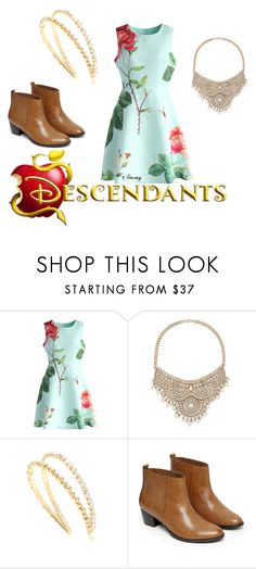 """""""descendants"""" by maria-cmxiv on Polyvore featuring Chicwish, Bebe, Miu Miu and Warehouse"""