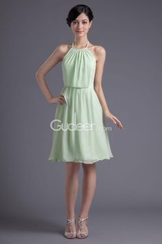 ... Dresses Cheap Bridesmaid Dresses Sage Chiffon Short Bridesmaid Dress