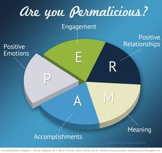 Discover the 5 building blocks (PERMA) of well-being and happiness.