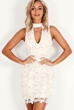 BY YOUR SIDE LACE MINI DRESS