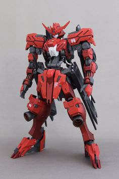 Www.ebble.com - Red are all wrong! Model works 1/100 Gundam Vidar