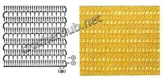 Crochet a beautiful and feminine beach attire. Free patterns for crochet beach outfit Crochet Cover Up, Free Crochet, Knit Crochet, Hippie Crochet, Beach Coverup Pattern, Short Tejidos, Beach Attire, Charts And Graphs, Handicraft