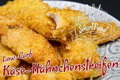 Low-Carb Käse-Hähnchenstreifen