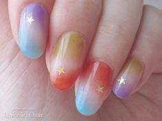 beautiful gradation nails