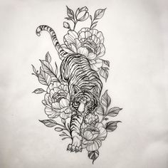 Mb New Water Proof Temporary Tattoo Stickers Cartoon Coloful Kid's Drawing Fox Fake Flash Taty Tatoo Tatouage Dream Tattoos, Mini Tattoos, Future Tattoos, Body Art Tattoos, Small Tattoos, Tiger Tattoo Sleeve, Best Sleeve Tattoos, Back Tattoo, Tiger Thigh Tattoo