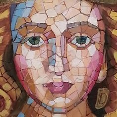 Painting, mosaic by Marie Cameron