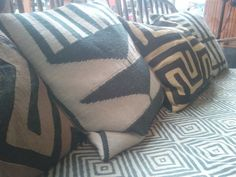 Wish: African Design - Cushions - for my own home one day too...