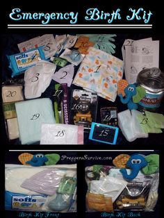 """Have you ever researched how to deliver a baby in an emergency situation or considered having a """"Home"""" or """"To-Go"""" Emergency Birth Kit for your preps?"""