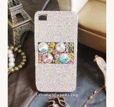 iPhone 4 Case iPhone 4s Case iPhone 5 Case by iPhone5CaseBling, $25.98