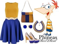"""Phineas2"" by aisha-grace-tenorio-cuartela on Polyvore"
