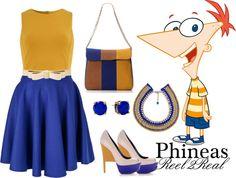 """Phineas2"" by aisha-grace-tenorio-cuartela on Polyvore"