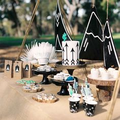 """Little Camper / Birthday """"Max's Teepee Party"""" Indian Birthday Parties, Wild One Birthday Party, Third Birthday, Baby Birthday, First Birthday Parties, First Birthdays, Birthday Gifts, Teepee Party, Happy B Day"""