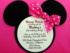 Minnie Mouse  Reagan's invitations ?