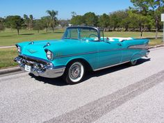 1957 Chevy Belair Convertible. FIRST USED CAR I EVER BOUGHT!.....MY TRUE LOVE!