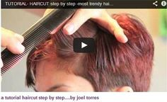 HOW-TO:Cut -ALL VISUAL/TUTORIAL- HAIRCUT step by step #Joeltorres