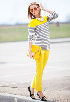 Yellow Wind  , Asos in Clutches, Gap in Sweaters