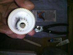 Broken Gear Repair