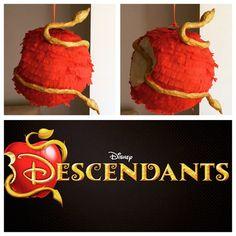 Disney Descendants apple piñata by sisispinatas on Etsy