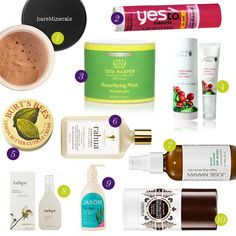 Ten eco-friendly beauty products you *need, want and must have* this Earth Week...  #topten #earthweek #organic