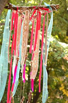 Girl Nursery Decor,Boho Decor,Pink and Mint Dream Catcher, Wall Hanging Dreamcatcher, Driftwood wal Bohemian Room, Bohemian Decor, Hippie Boho, Girl Nursery, Nursery Decor, Diy And Crafts, Arts And Crafts, Driftwood Wall Art, Diy Wind Chimes