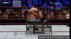 John Cena - Attitude Adjustment GIF #wrestling #wwe