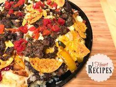 Dollar Tree Gourmet | Loaded Steak & Cheese Nachos +Dollar Tree Steak Review | I Heart Recipes - YouTube