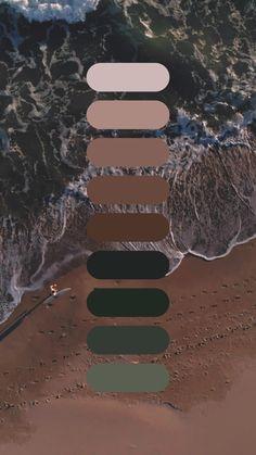 Color Schemes Colour Palettes, Nature Color Palette, Colour Pallete, Color Combos, Brown Color Schemes, Color Harmony, Color Balance, Derma Wax, Home Design