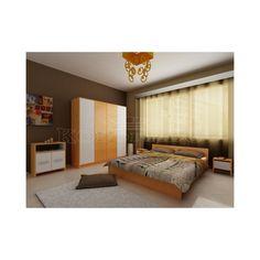 Dormitor Lorena Furniture, Home Decor, Decor, Bed