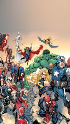 Download Marvel… | iPhone5 Wallpaper Gallery
