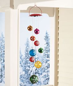 easy to make from extra ornaments...