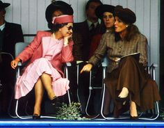 The Queen with Sarah, Duchess of York