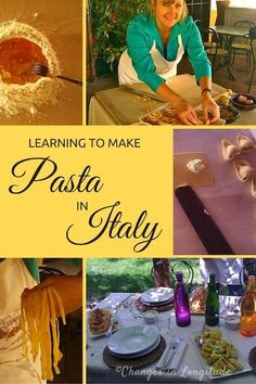 Spend the day at Podere San Giuliano, an agriturismo near Bologna. Learn the art of hand-rolling pasta, then enjoy the delicious results.