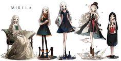Character Making #Mirela/ALGL/あさひろコミティアA01ab[pixiv]