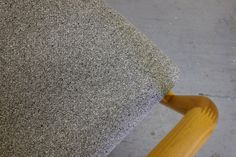 PePeチェア ケヤキ材 Tweed-gray